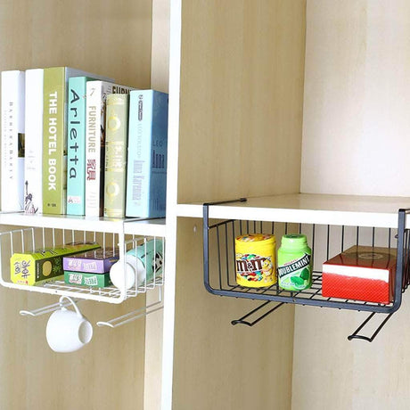 Hanging Basket Storage Rack Storage Holders & Racks