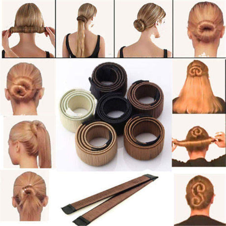 Magic Hair Bun Maker Braiders