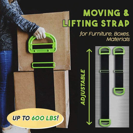 Moving & Lifting Straps Cords Black 14:200660979