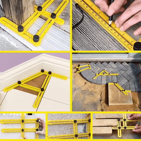 Multi-Angle Measuring Ruler Tools