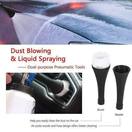 Portable High Pressure Interior Car Cleaning Gun - 1 Set Car Washer