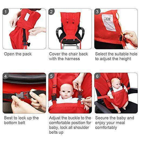 Portable Highchair For Any Occasion Booster Seats