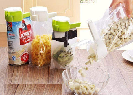 Seal and Pour Food Bag Clip Bag Clips