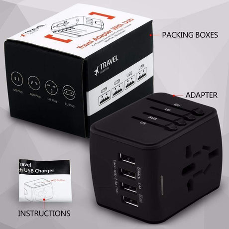 Travel Adapter International Plug Adaptor