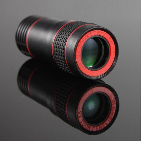 Universal 8X Optical Zoom Telescope Camera Lens Clip Telescope & Binoculars