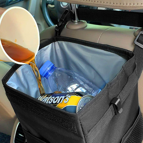 Waterproof Car Trash Can Bin Car Trash