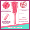WonderBrushPro Detangler Combs