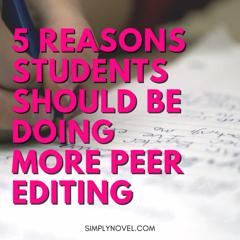 why students should be doing more peer-editing