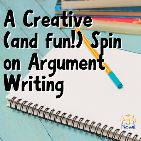 Creative spin on argument writing