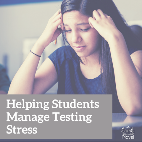 helping students manage testing stress