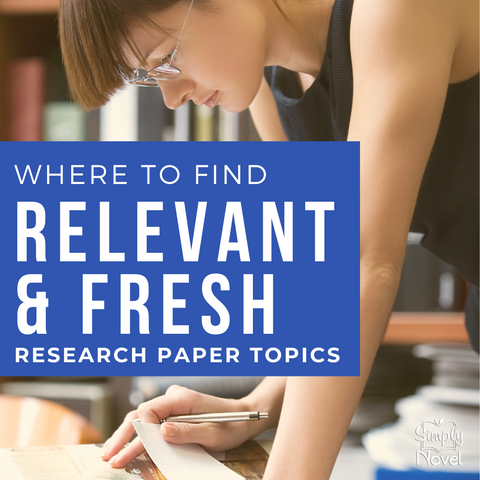 Relevant and Fresh Research Paper Topics