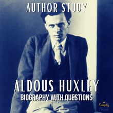 Load image into Gallery viewer, Author Study: Aldous Huxley Biography, Questions