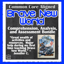 Load image into Gallery viewer, Brave New World Common Core Aligned Novel Study Guide - DISTANCE LEARNING