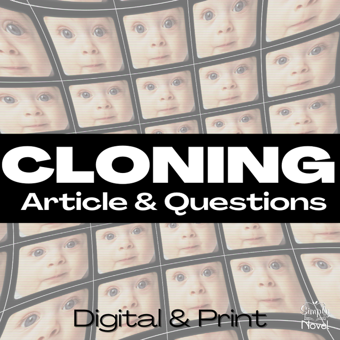 Cloning Informational Text Article & Questions