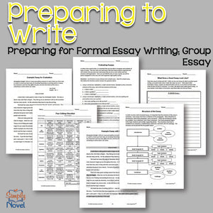 Essay Apprentice PRINT VERSION - Writing Lessons, Basics for Struggling & Low-Level Students
