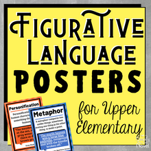 Load image into Gallery viewer, Figurative Language | Figures of Speech Posters for Upper Elementary