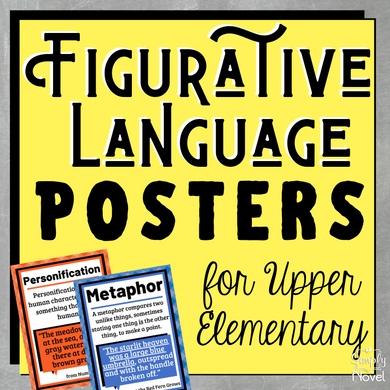 Figurative Language | Figures of Speech Posters for Upper Elementary