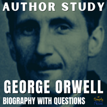 Load image into Gallery viewer, Author Study: George Orwell Biography, Questions