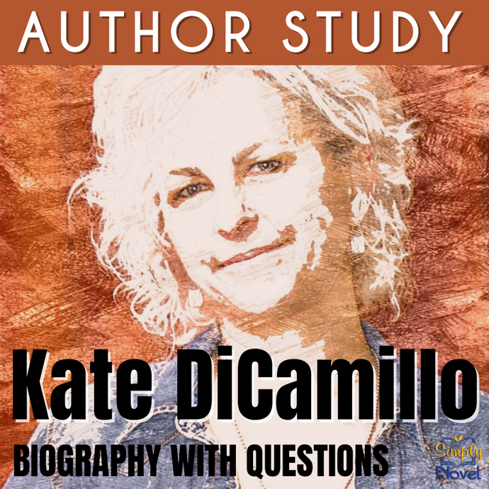 Author Study: Kate DiCamillo Biography & Questions