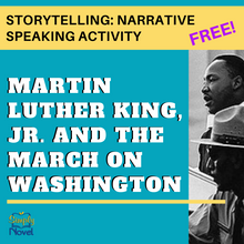 Load image into Gallery viewer, Martin Luther King Jr. March on Washington FREE Storytelling: Narrative Speaking Activity