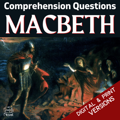 Macbeth Teaching Guide - Comprehension and Analysis Scene Questions