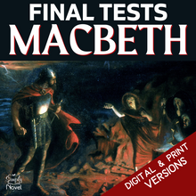 Load image into Gallery viewer, Macbeth Teaching Guide - FINAL TESTS - Mixed & Multiple Choice