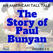 Load image into Gallery viewer, The Story of Paul Bunyan: An American Tall Tale Handout