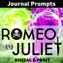 Load image into Gallery viewer, Romeo and Juliet Journal Topics & Writing Prompts