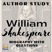 Load image into Gallery viewer, Author Study: Shakespeare Biography and Questions