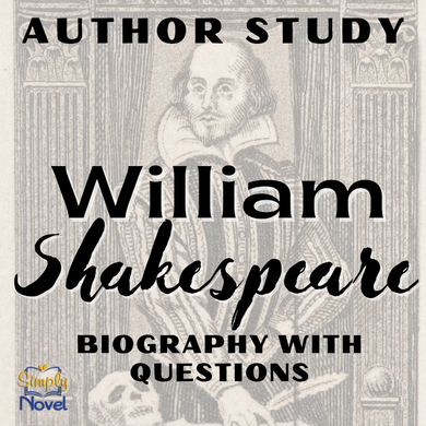 Author Study: Shakespeare Biography and Questions
