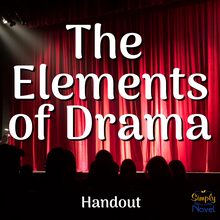 Load image into Gallery viewer, Elements of Drama Play Study Handout