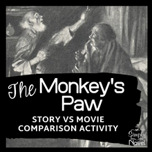 Load image into Gallery viewer, The Monkey's Paw Story Versus Movie Comparison Questions