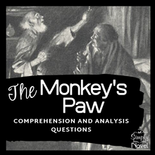 Load image into Gallery viewer, The Monkey's Paw Reading Comprehension and Analysis Questions