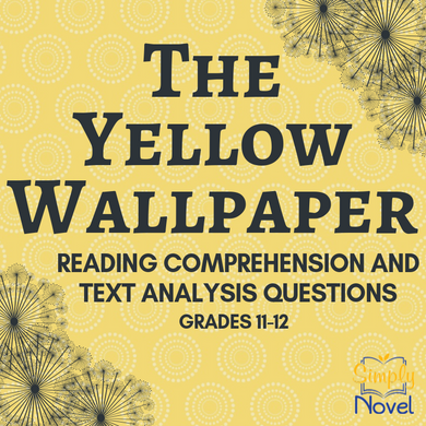The Yellow Wallpaper Story Questions, Quiz Questions