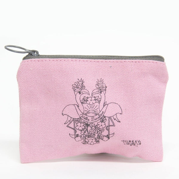 Hello Sunshine Flamingo Purse