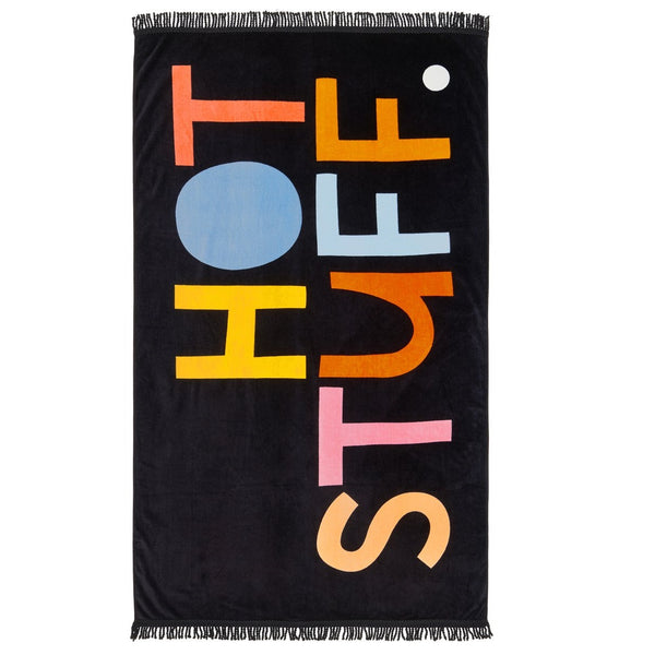 Hot Stuff - Beach Towel