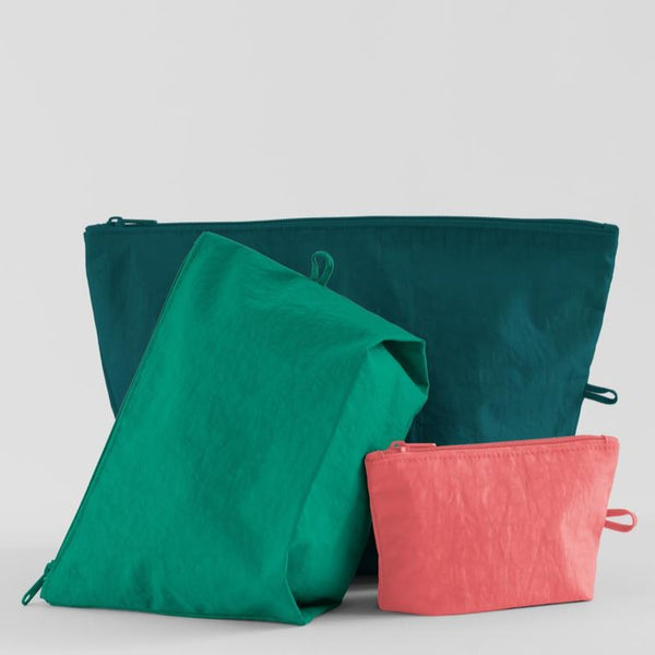 Go Pouch Set - Watermelon Slice