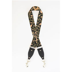Adjustable Bag Strap - Khaki Leopard