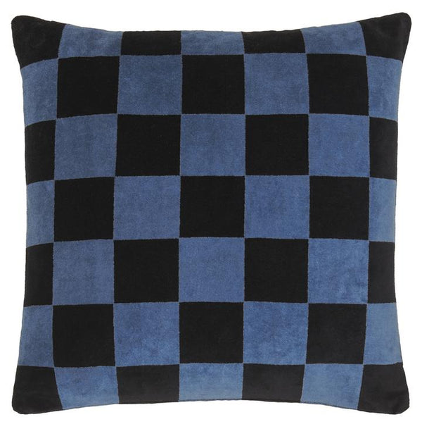 Checkerboard Velvet Cushion Cover