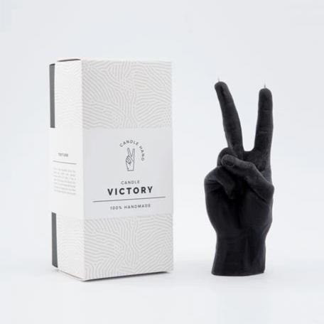 Victory Black Candle
