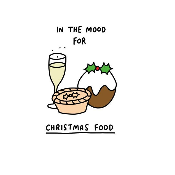 In the mood - Christmas card