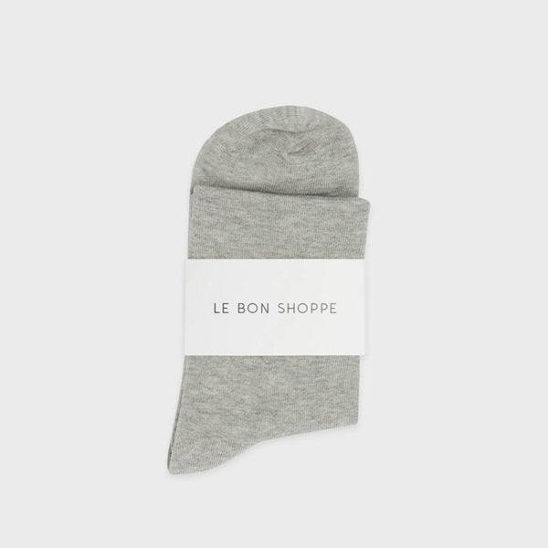 Sneaker Socks -  Heather Grey