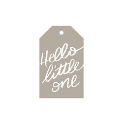Hello Little One - Gift Tag