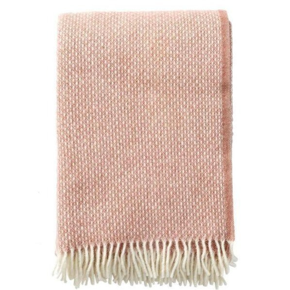 Freckles Lambswool Throw - Nude