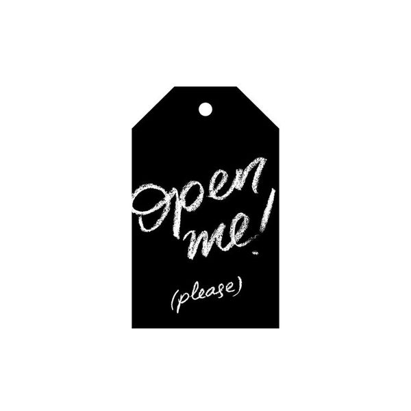 Open Me - please! - Gift Tag