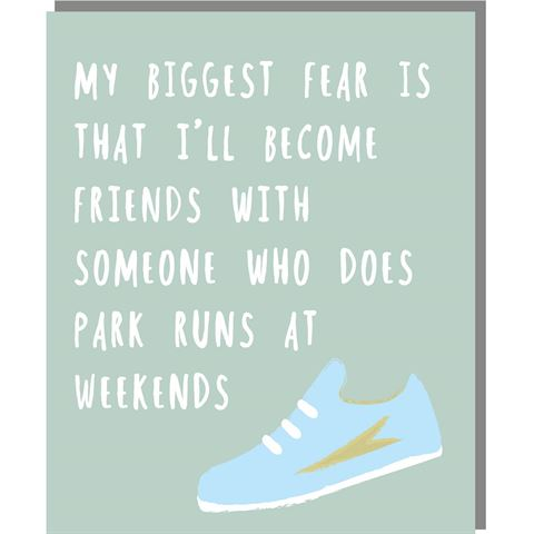 Park Runs - Mini Card