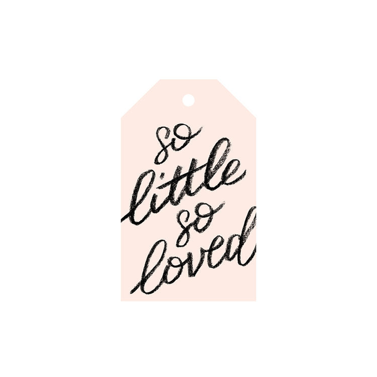 So little so loved - Gift Tag