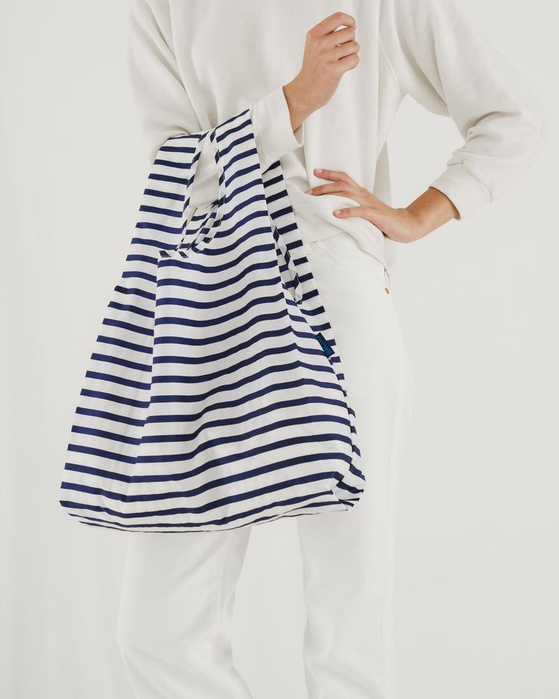 Reusable Bag - Sailor Stripe