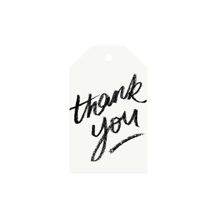Thank You - Gift Tag