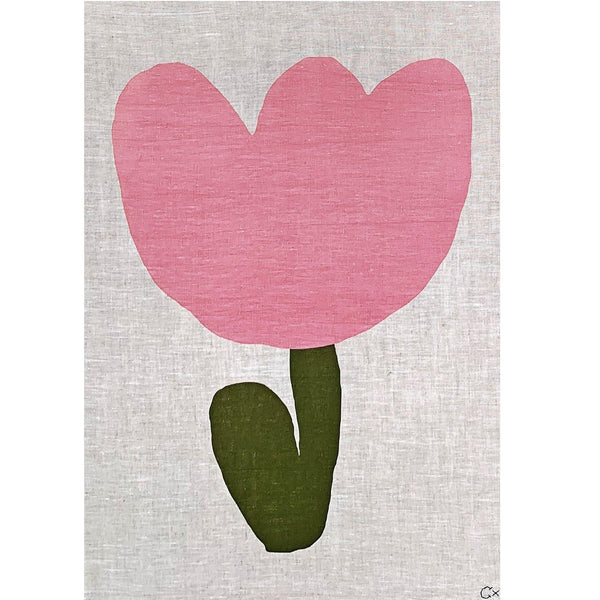 Art Teatowel - Baby Flower
